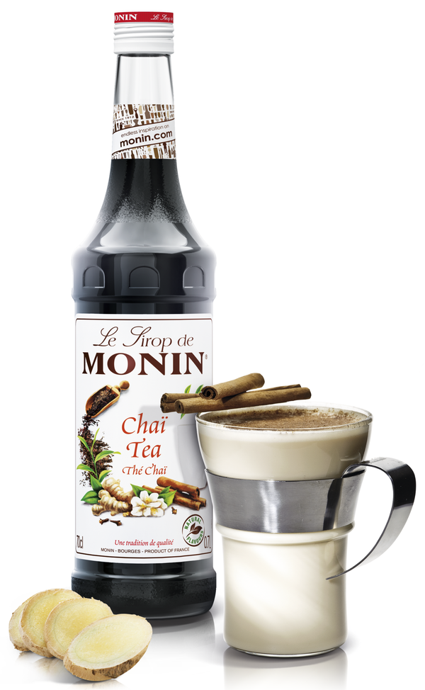 Monin Chai Tea Syrup, 6 x 700ml