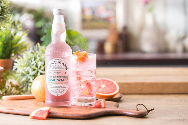 Fentimans Pink Grapefruit Tonic Water, 8 x 500ml