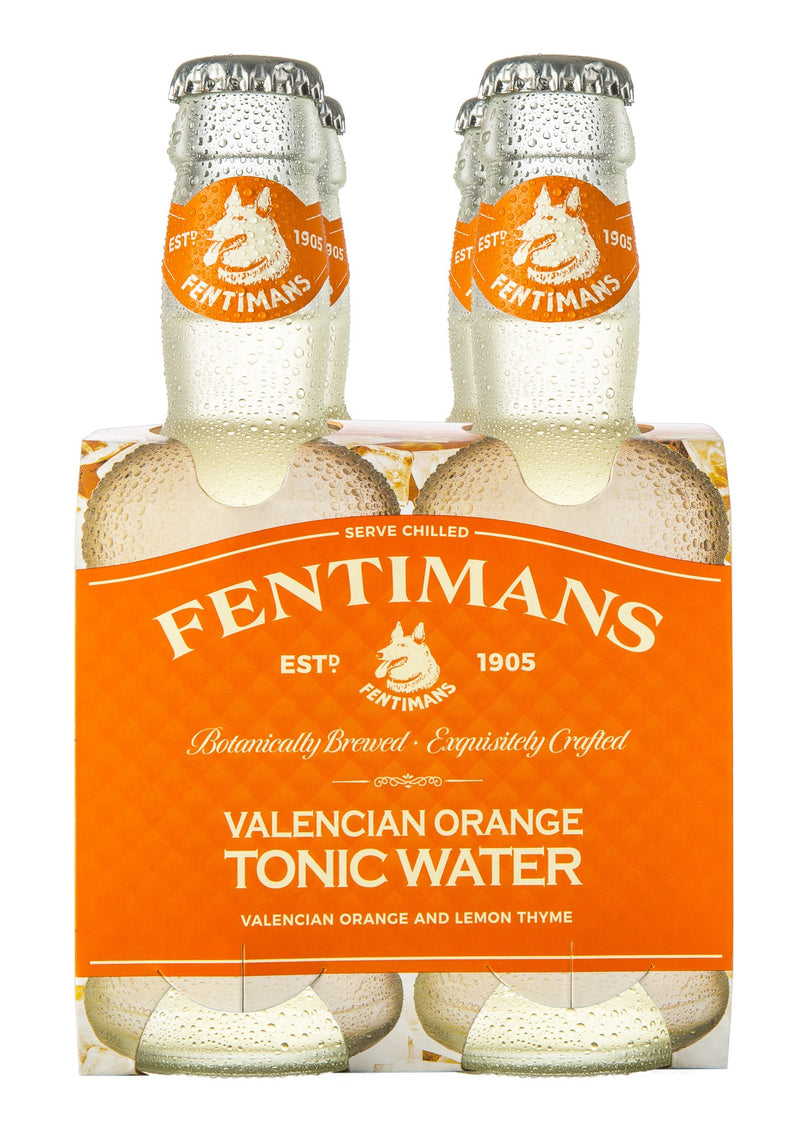 Fentimans Valencian Orange Tonic Water, 6 x 4 200ml Pack