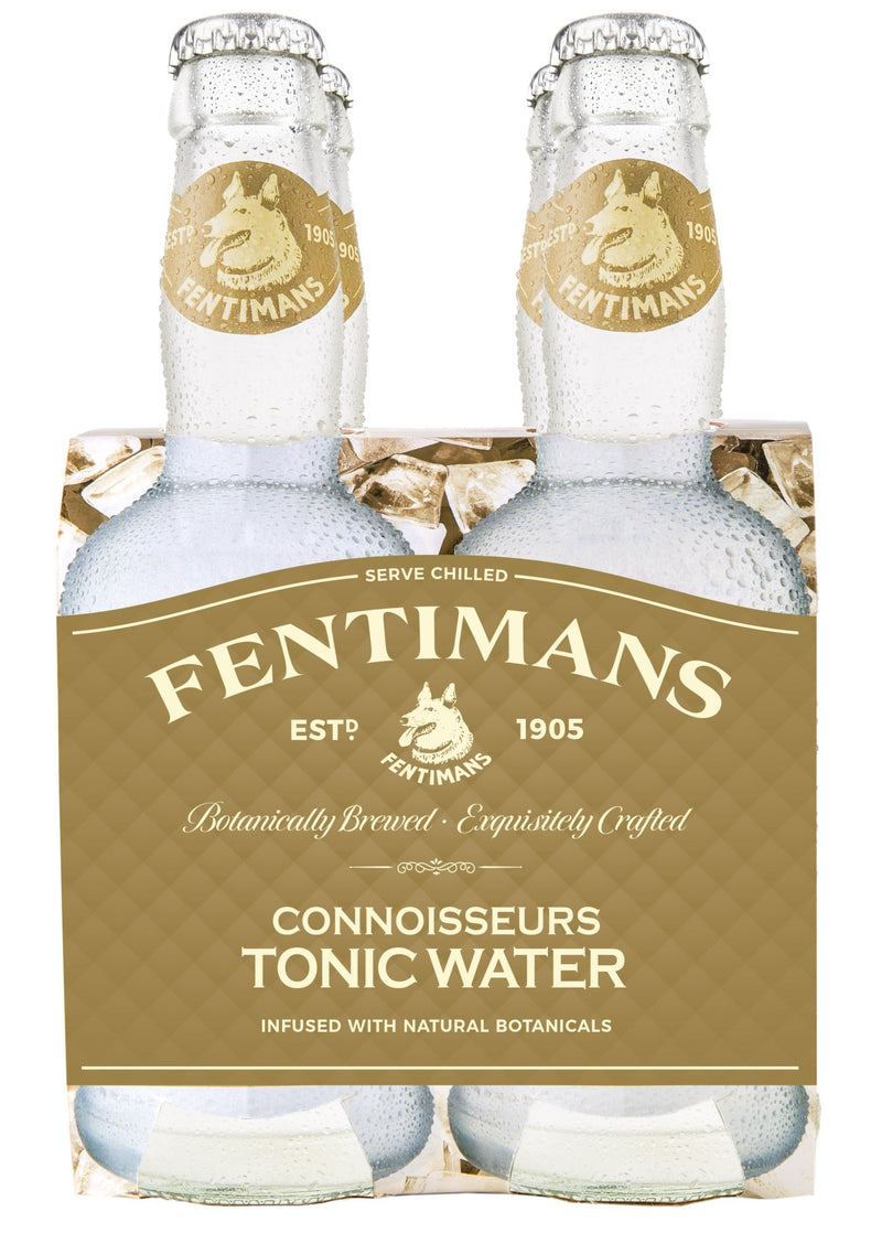 Fentimans Connoisseurs Tonic Water, 6 x 4 200ml Pack