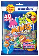Chupa Chups Mix of Minis Bags 320g x 5