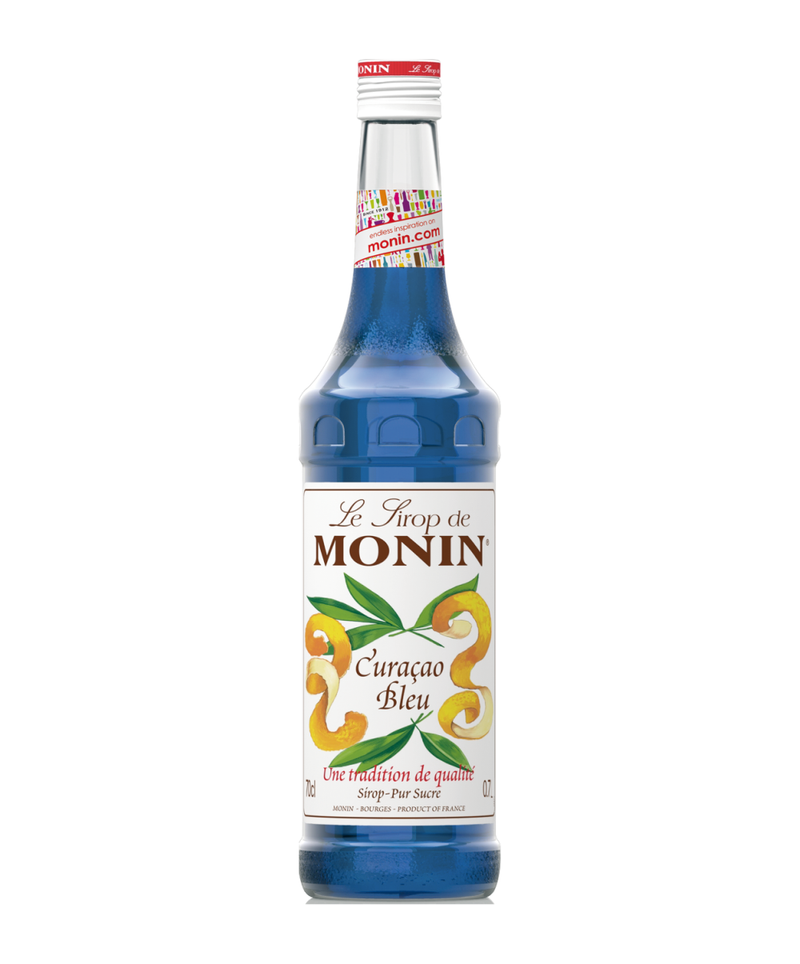 Monin Blue Curacao Syrup, 6 x 700ml