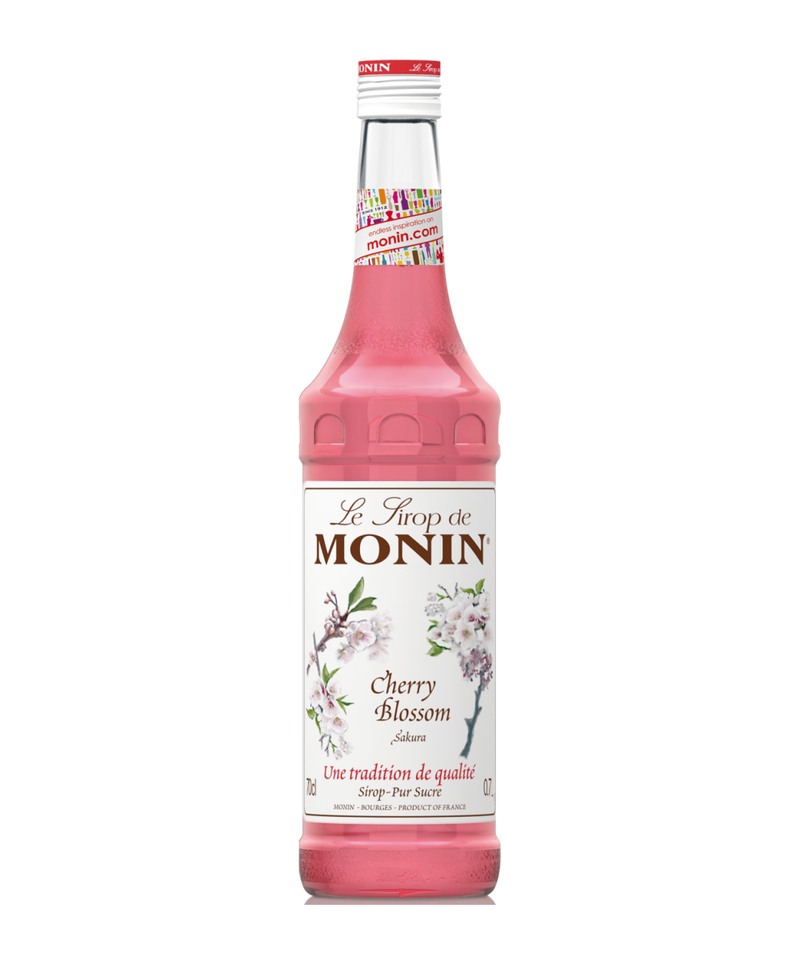 Monin Cherry Blossom Syrup, 6 x 700ml