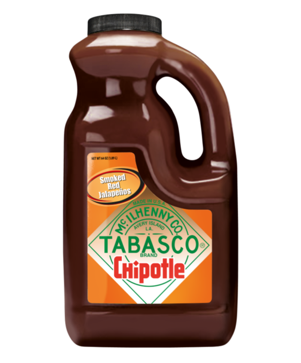 Tabasco Chipotle Pepper Sauce, 2 x 1.89L