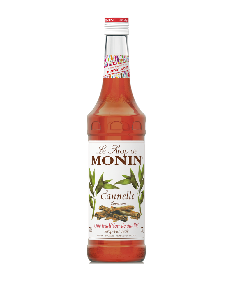 Monin Cinnamon Syrup, 6 x 700ml