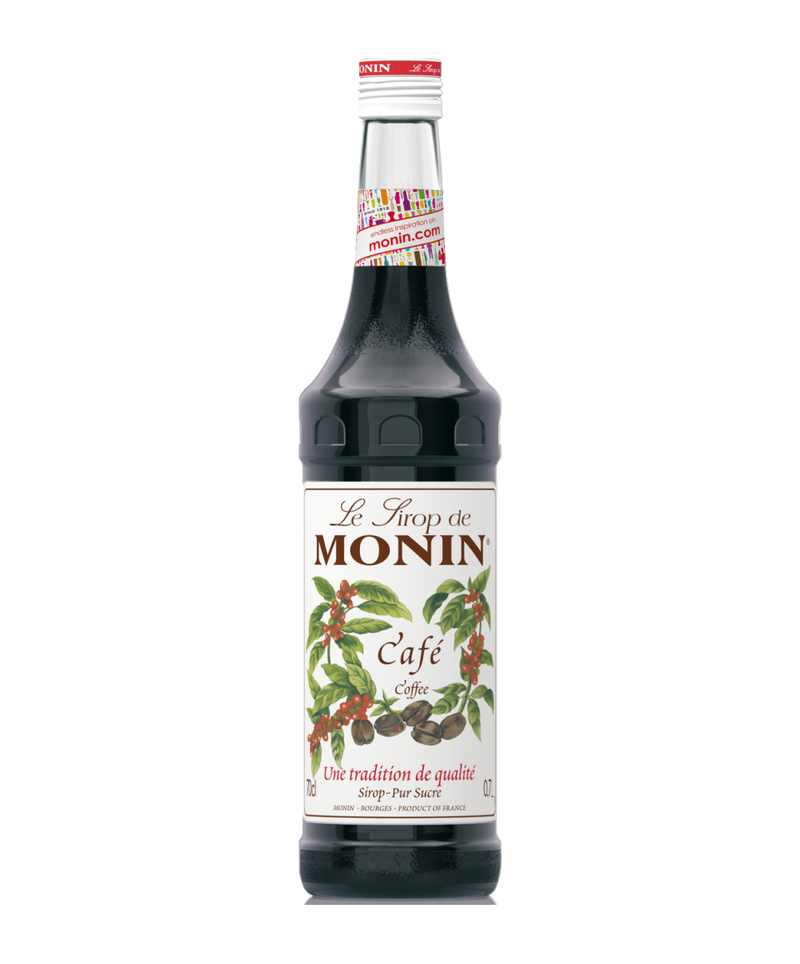 Monin Coffee Syrup, 6 x 700ml