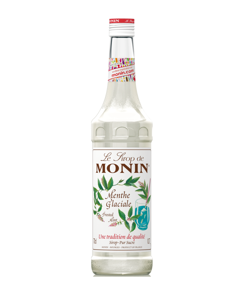 Monin Frosted Mint Syrup, 6 x 700ml