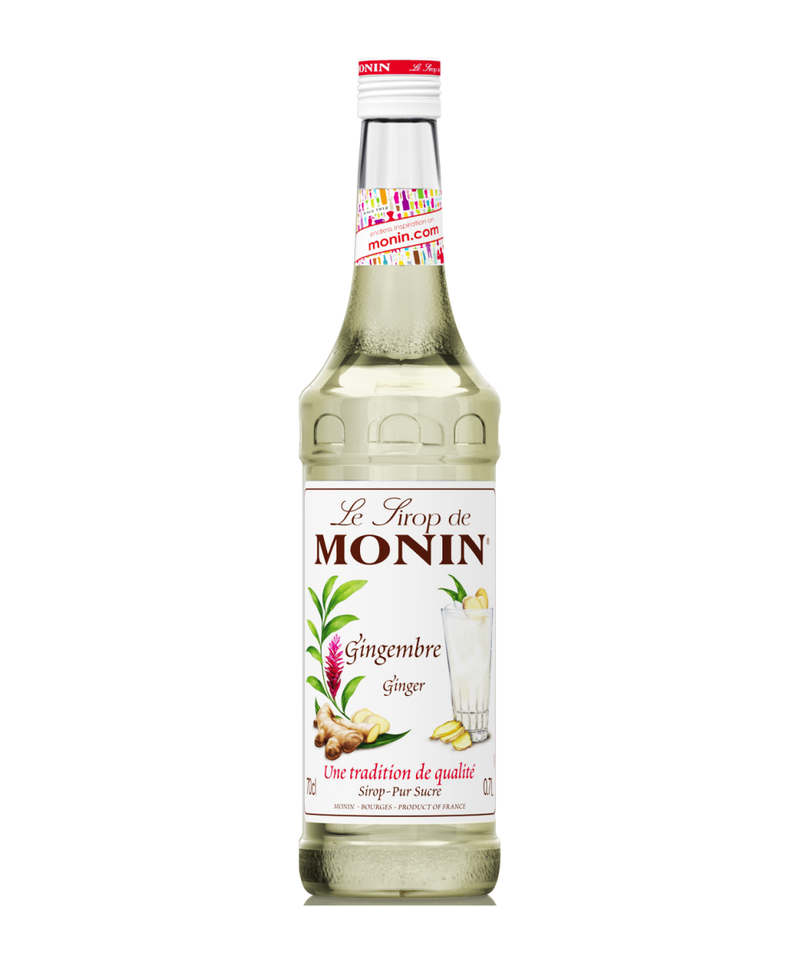 Monin Ginger Syrup, 6 x 700ml