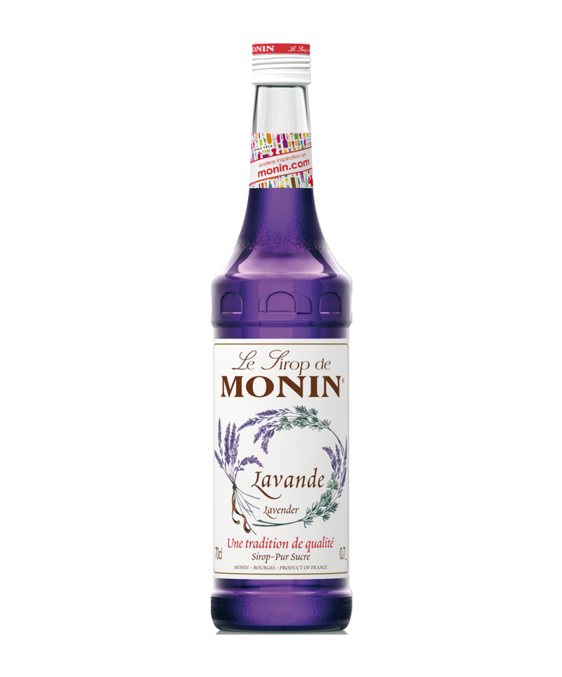 Monin Lavender Syrup, 6 x 700ml