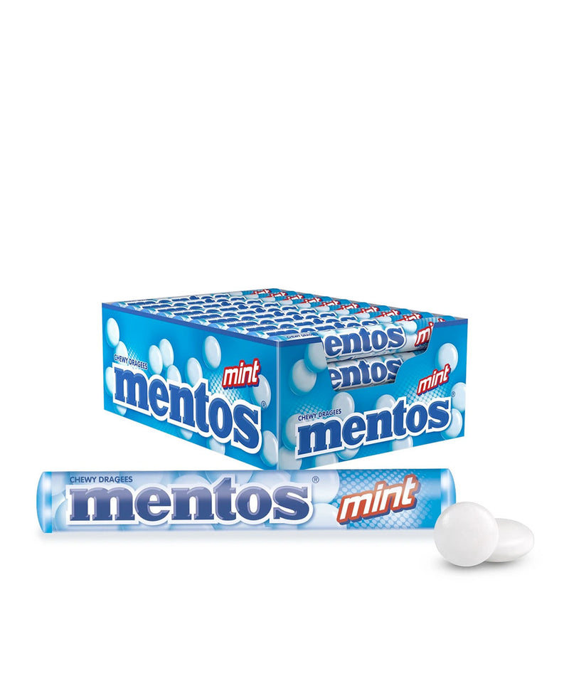 Mentos Mint Candy Roll, 40 Rolls