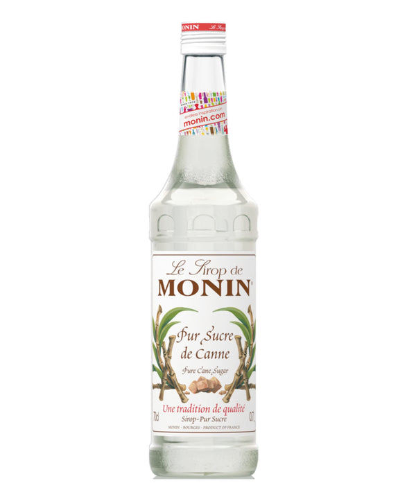 Monin Cane Sugar Syrup, 6 x 700ml
