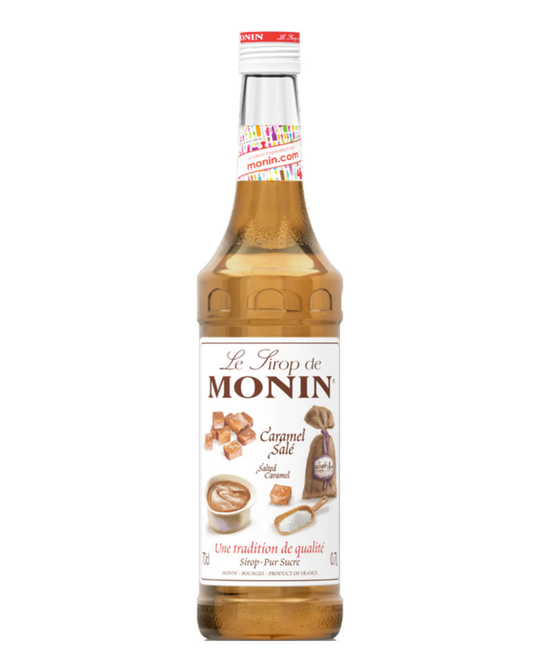 Monin Salted Caramel Syrup, 6 x 700ml