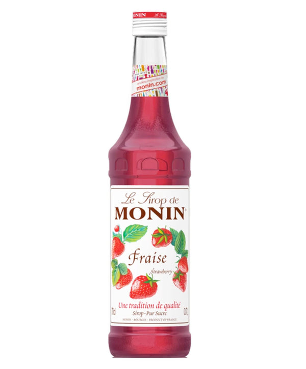 Monin Strawberry Syrup, 6 x 700ml