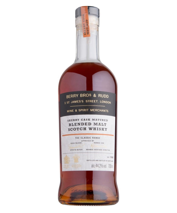 Berry Bros. & Rudd Sherry Cask Blended Malt Scotch Whisky