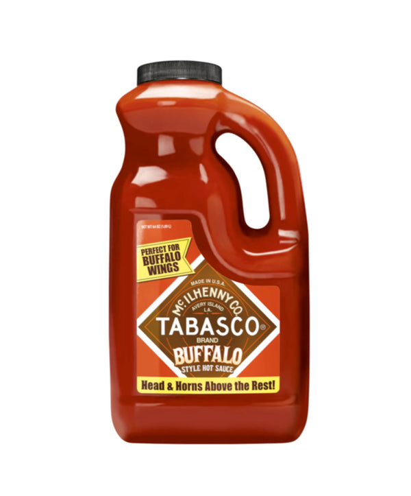Tabasco Buffalo Style Pepper Sauce, 2 x 1.89L