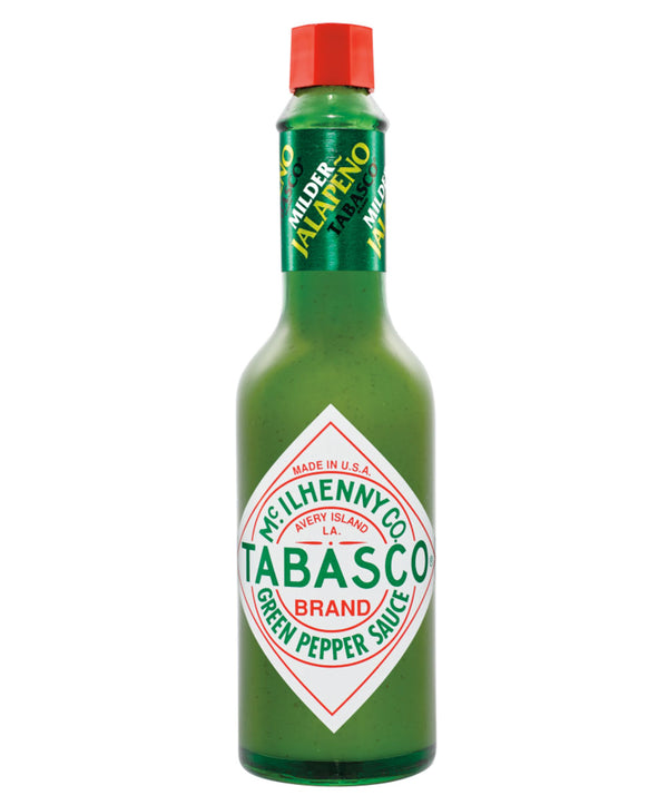 Tabasco Green Pepper Sauce, 12 x 60ml