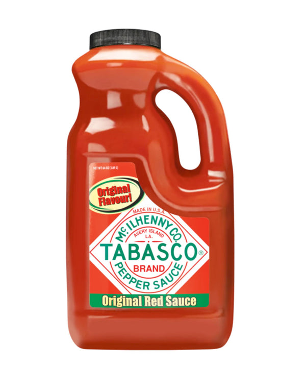 Tabasco Original Red Pepper Sauce, 2 x 1.89L
