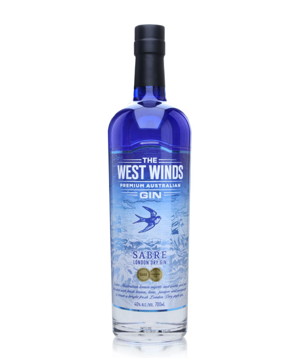 The West Winds Sabre London Dry Gin, 6 x 700ml