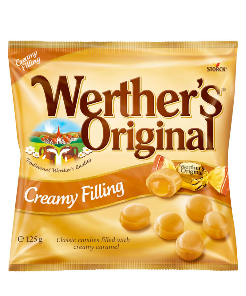 Werthers Original Creamy Filling Bag, 12 x 125g
