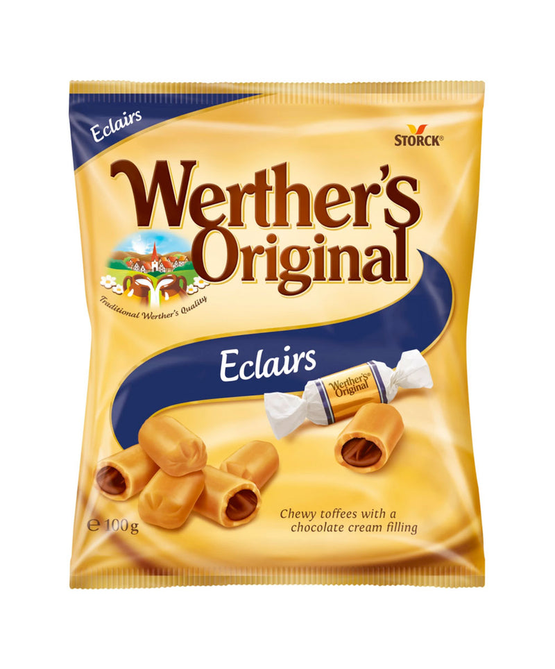 Werthers Original Eclairs Bag, 12 x 100g