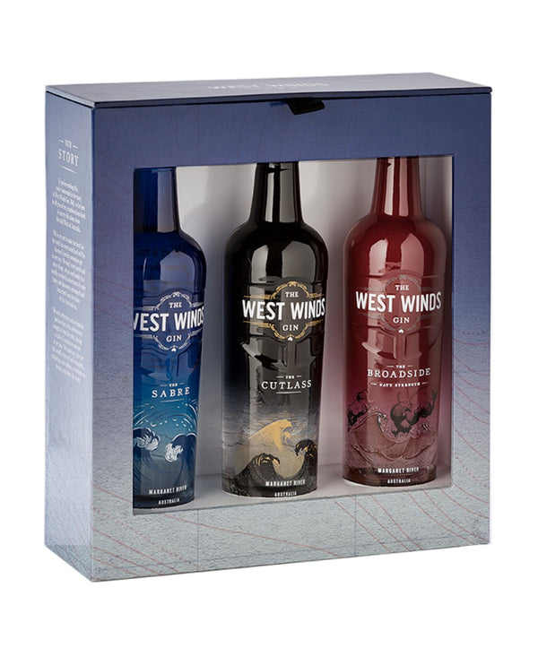 West Winds Gin Triple 200mL Gift Pack x 8