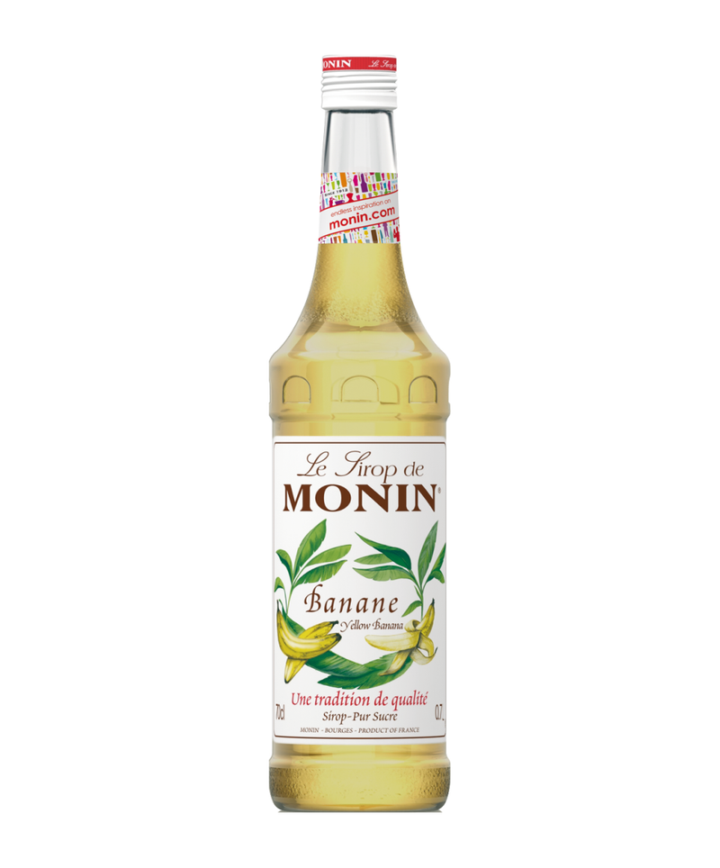 Monin Banana Syrup, 6 x 700ml