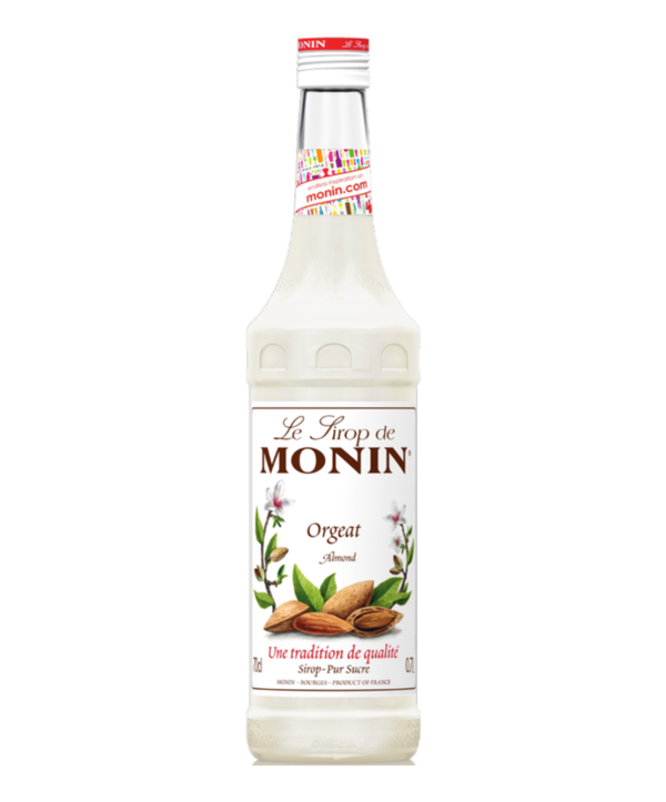 Monin Almond Syrup, 6 x 700ml