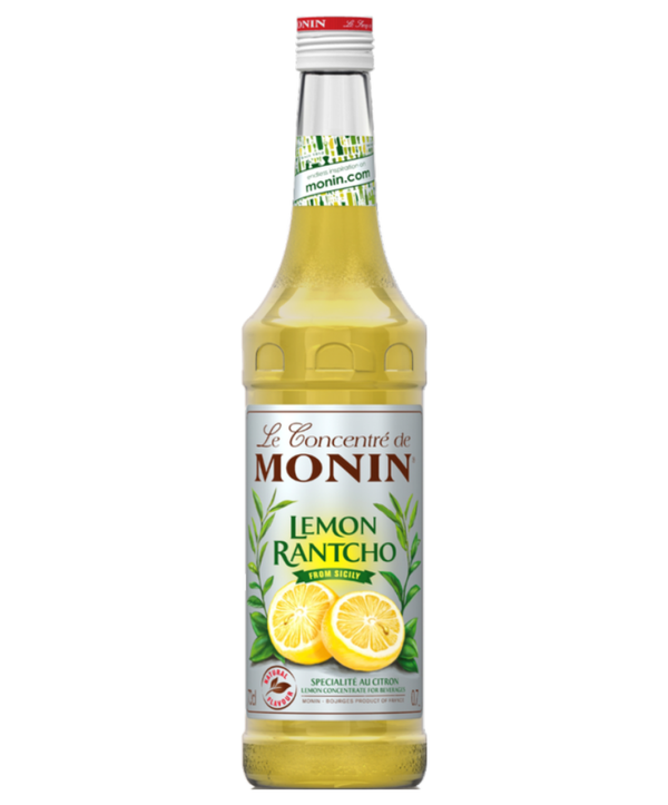 Monin Lemon Rantcho Syrup, 6 x 700ml
