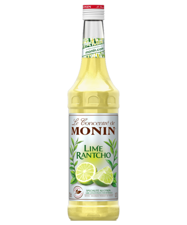 Monin Lime Rantcho Syrup, 6 x 700ml