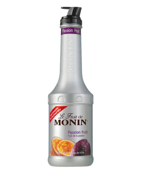 Monin Passionfruit Puree, 4 x 1L