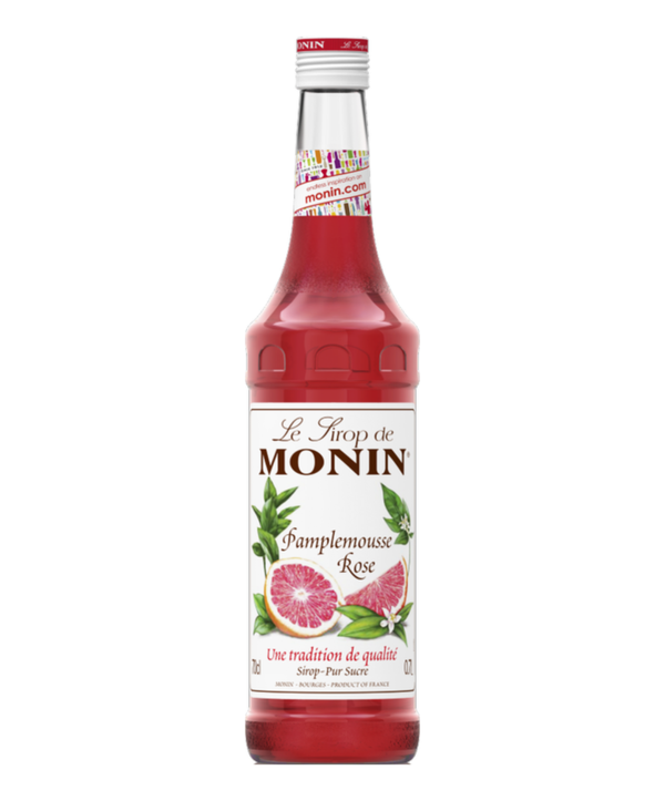 Monin Pink Grapefruit Syrup, 6 x 700ml
