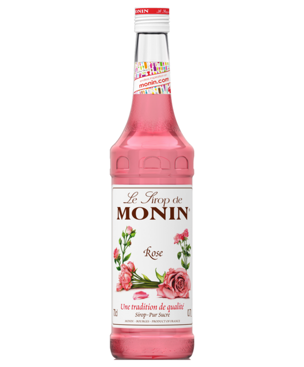 Monin Rose Syrup, 6 x 700ml