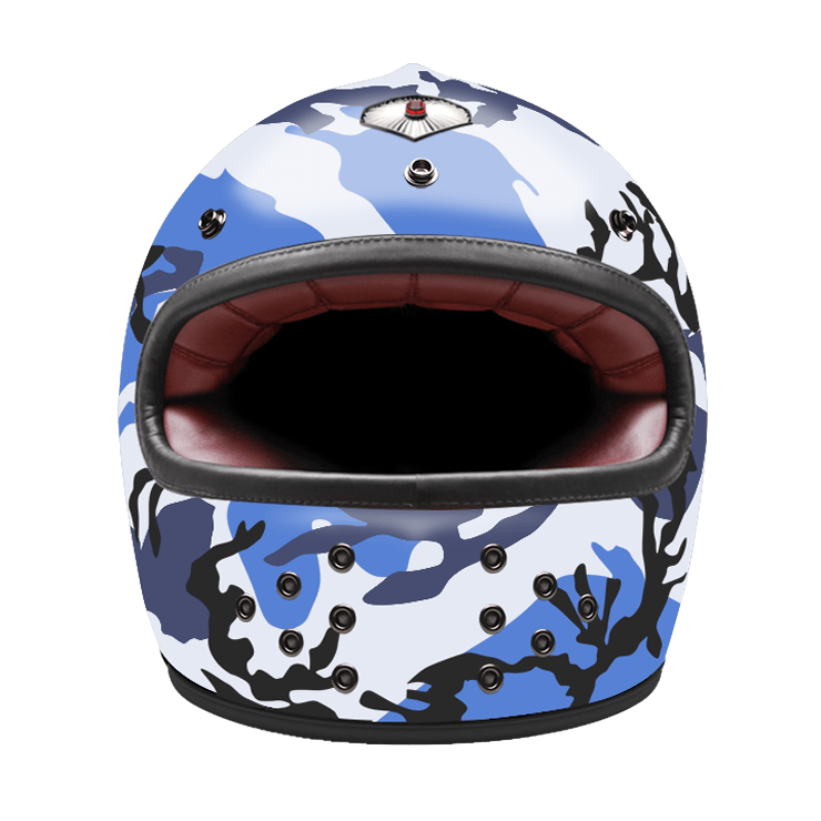 Full Face Camouflage Blue
