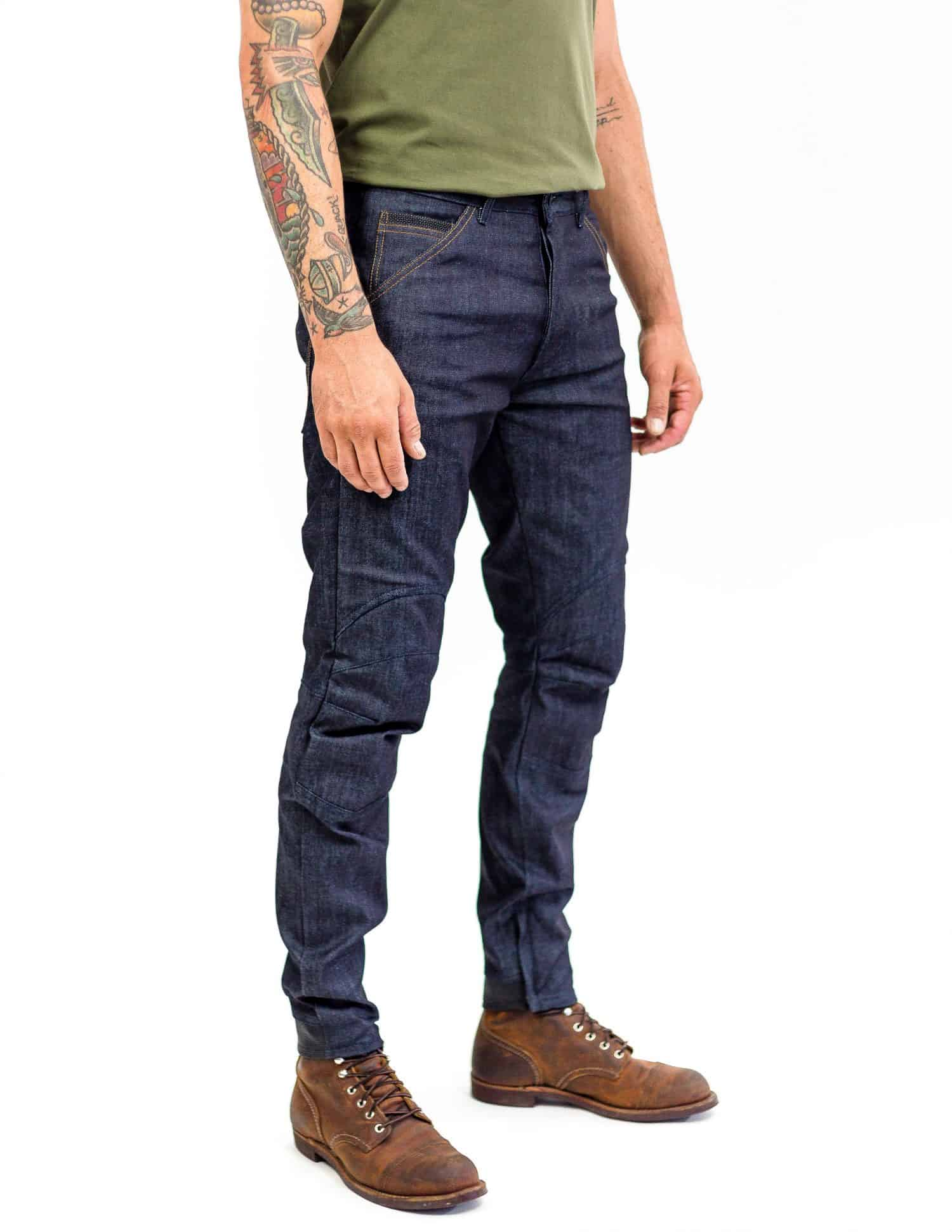 Tech 110 Moto Denim - Indigo