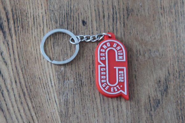 Grand Union Garage Key Ring