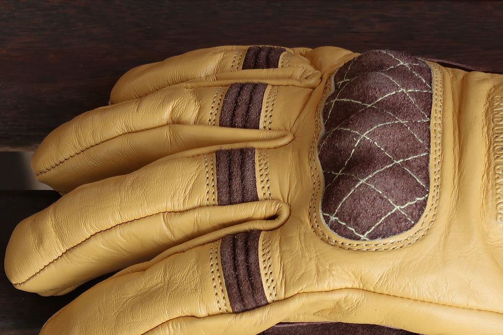 On Any Sunday Gloves - Tan / Brown
