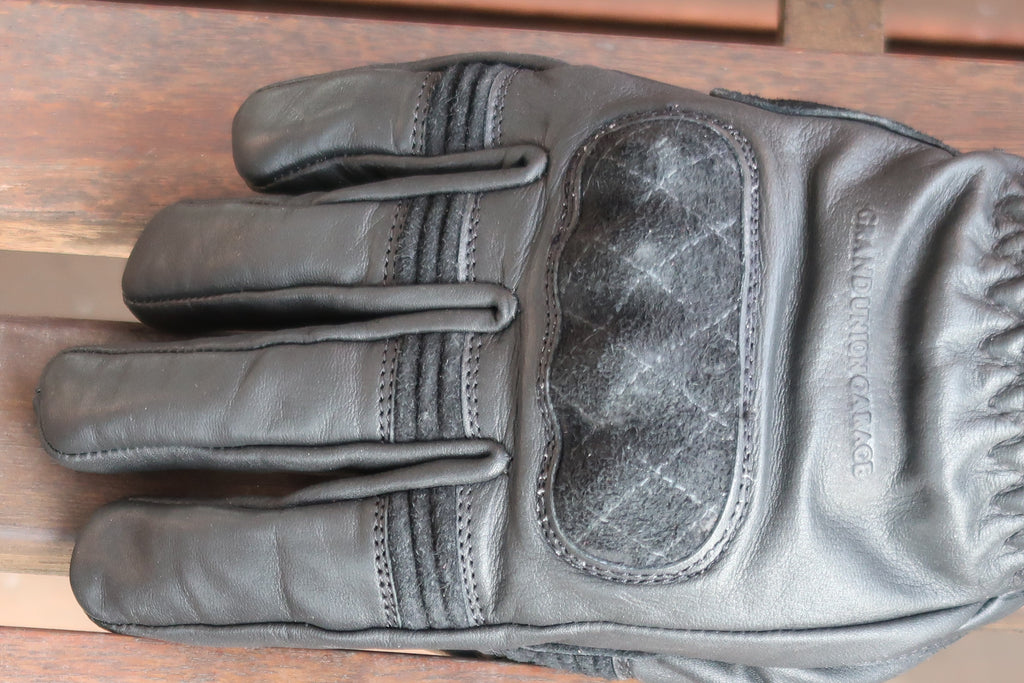 On Any Sunday Gloves - Black on Black