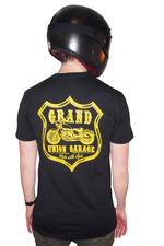 Grand Union Garage Western Tee (Black/Yellow)