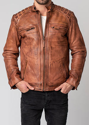 Blackbird Pembrey Leather Jacket