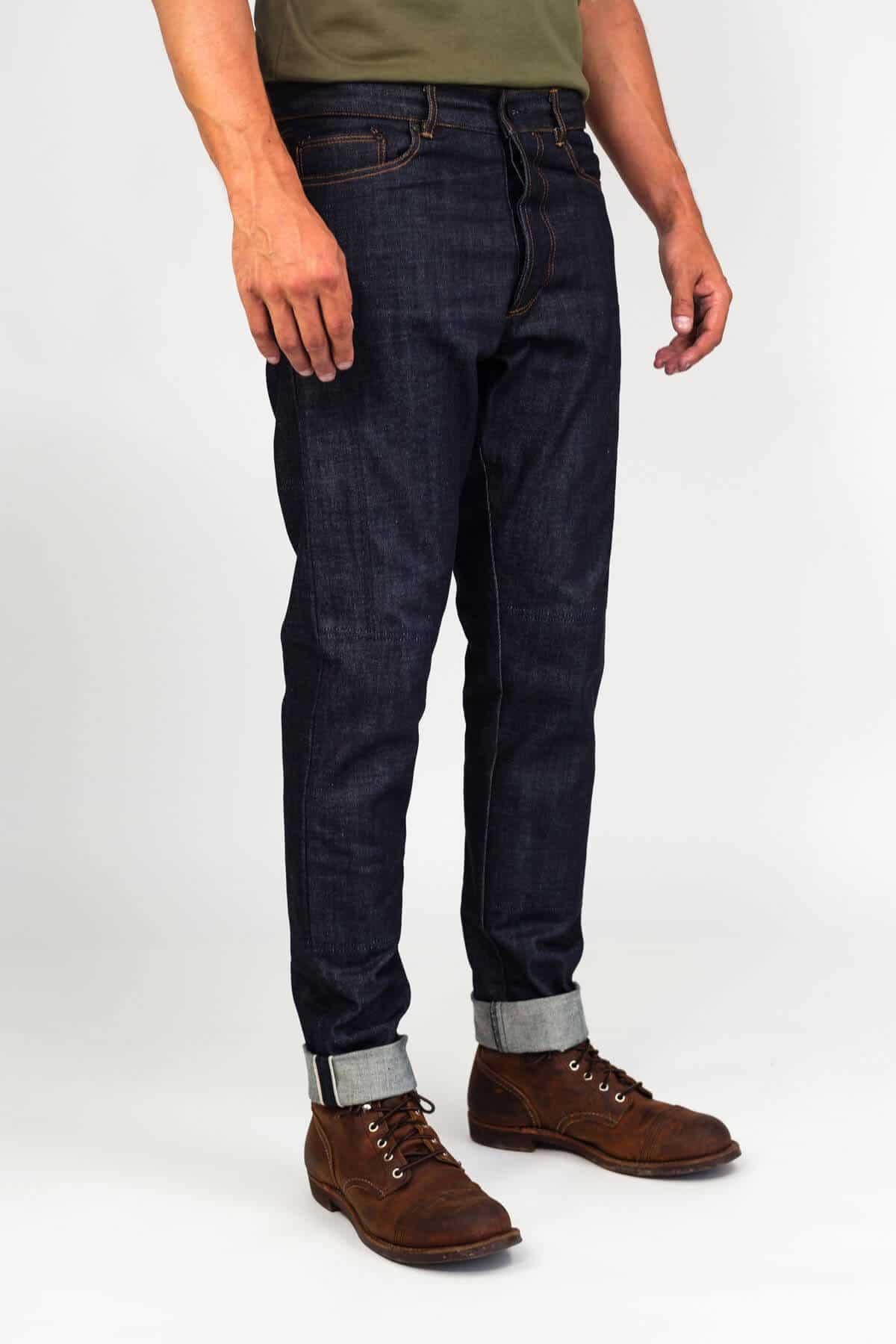 Selvedge Moto Denim - Indigo
