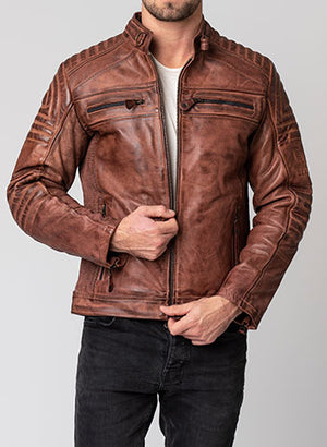 Blackbird Wakefield Men's Leather Jacket