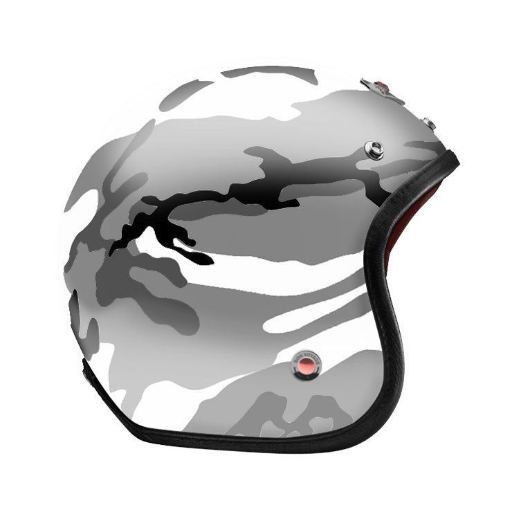Open Face Camouflage Grey