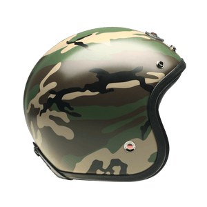 Open Face Camouflage Green