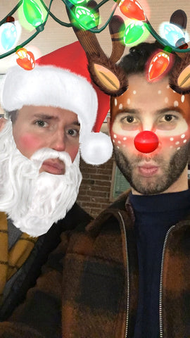 Ed & Andy Christmas Filter