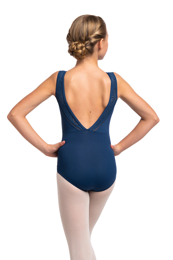 Girls Kimberley Leotard with Lola Lace
