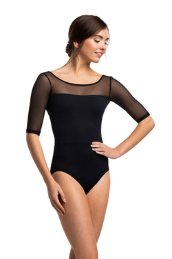 Sonia Leotard with Mesh