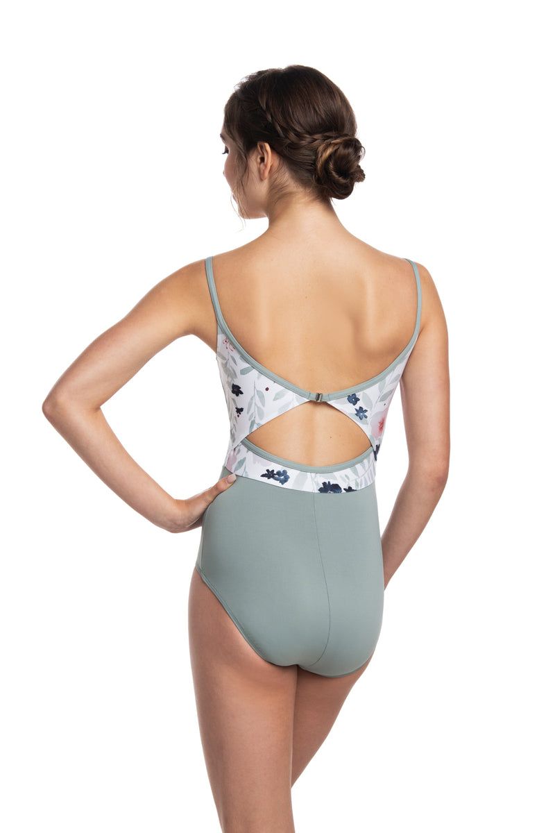 Liberty Leotard with Pastel Bloom Print