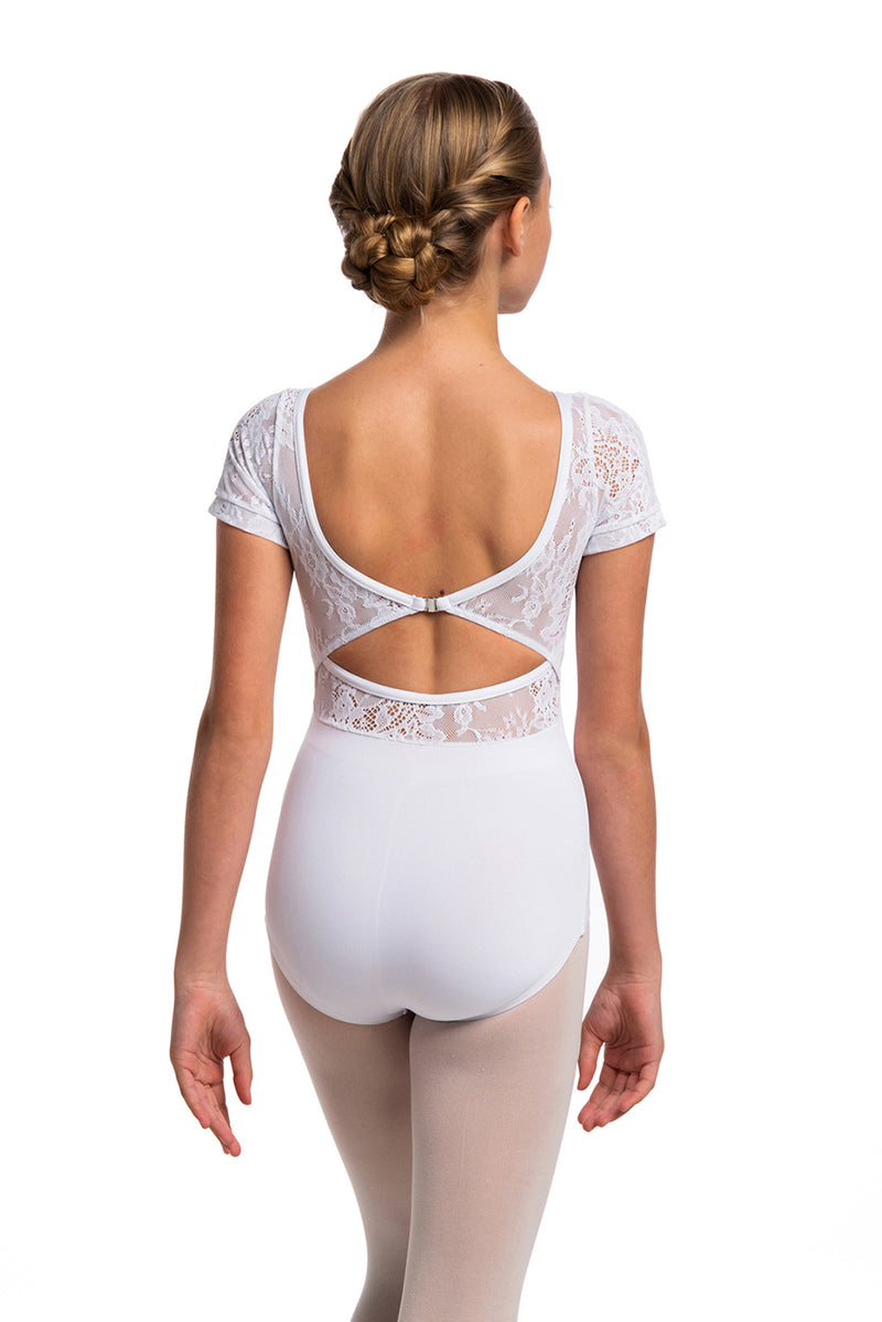 Girls Daria Leotard with Kara Lace