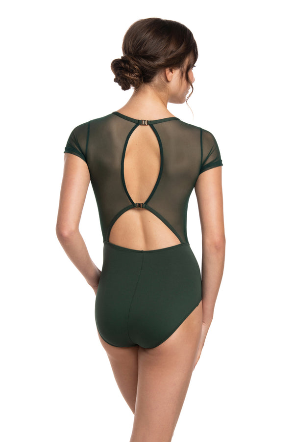 Renee Leotard with Mesh