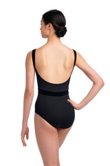 Arden Leotard with Grand Elegance Print